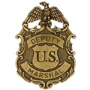 Eagle Deputy Marshall Badge